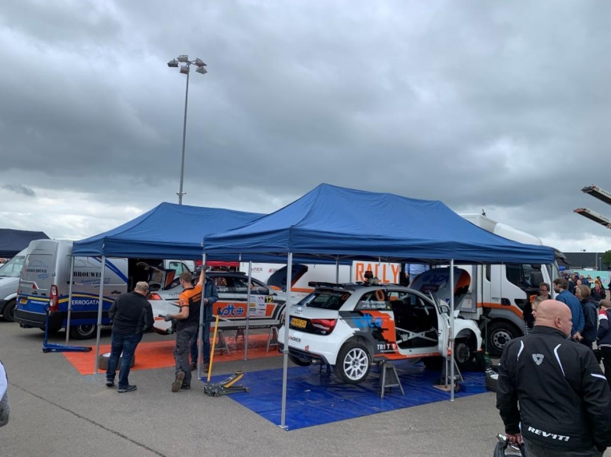 Tevreden gezichten bij Brouwer Rallysport!